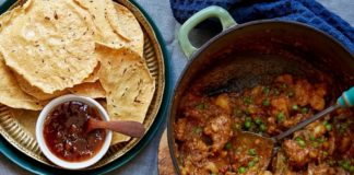 Cape Malay curry is known for combining sweet and savoury flavours. Chef Bernard Hartzenberg infuses it with some Asian delicacies. Photo: Supplied/Food For Mzansi