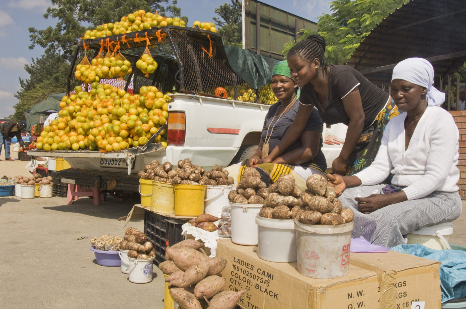 Food security: Hawkers at informal market and along roadside in Acornhoek - Hoedspruit, Limpopo Province South Africa. Photo: Supplied/Flickr