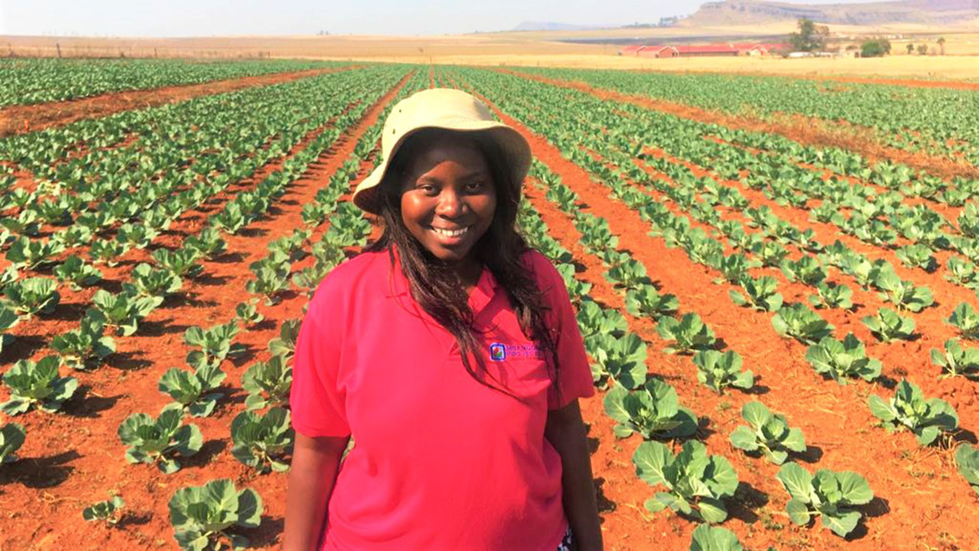 Ayanda Ntshangase is as go-getter as it gets. Mere months after putting her first crops in the ground, she is not only supplying some of the biggest retail names in Mzansi, but already aiming for exports as well. Photo: Supplied/Food For Mzansi