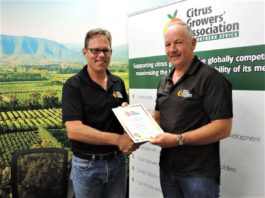 Citrus growers association appoints acting CEO.