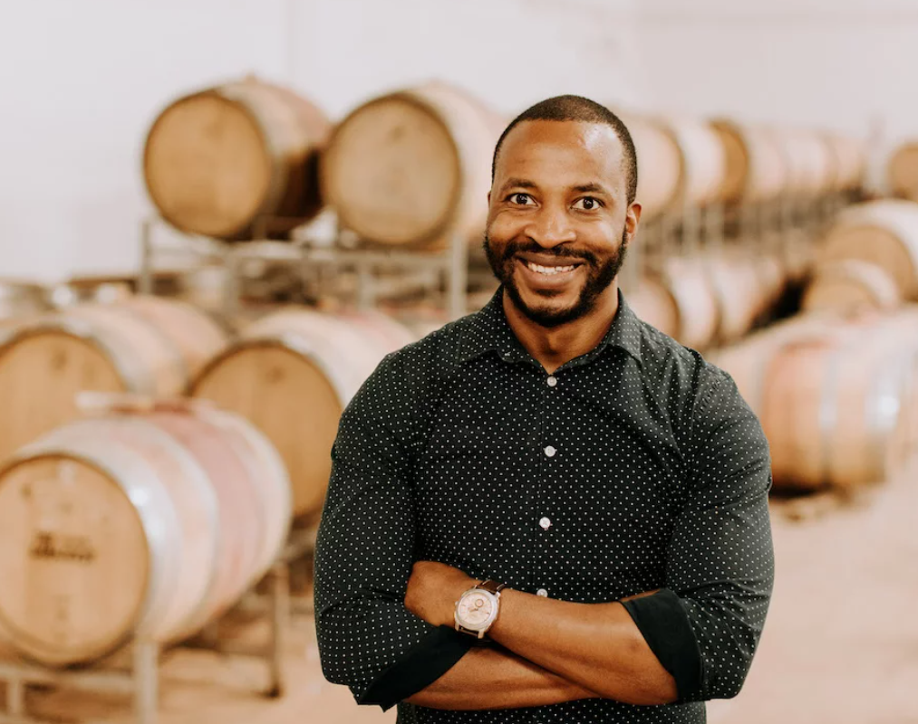 Nyumudoka is planning to continue the expansion of his wine brand. Photo: Supplied/Food for Mzansi.