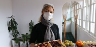 Tahmina Isayeva turned her hobby of preserving fruits into a business and is now the first commercial producer of dried fruits in her village. Photo: Supplied/FAO/Abdul Mustafazade