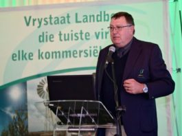 Tommie Esterhuyse, former vice president of Free State Agriculture. Photo: Supplied/Food For Mzansi