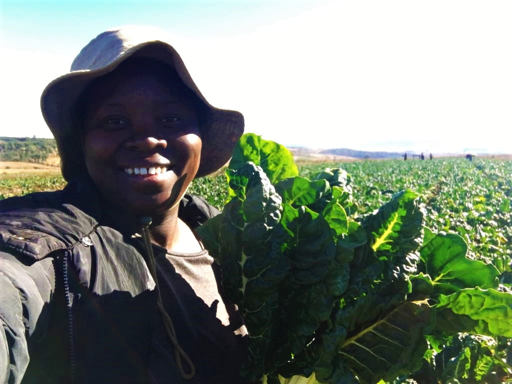 Ayanda Ntshangase has her eyes set on Africa and hopes that one of her next moves will be getting on the export market. Photo: Supplied/Food For Mzansi