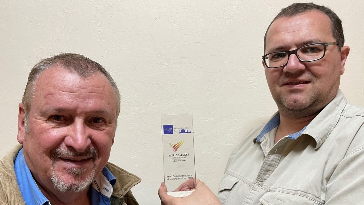 AGRICOLLEGES international walked away with top honours in the 2021 African Excellence Business Awards. Photo: Supplied/Food For Mzansi