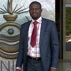 Displaced farmers and herders: Oludayo Tado does research.