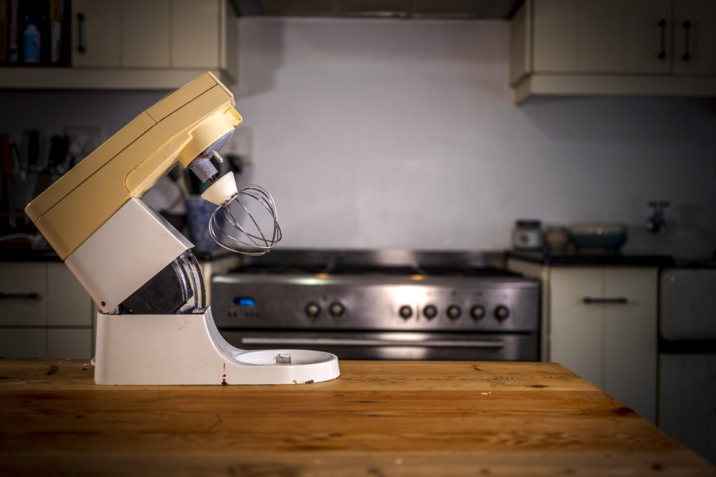 """""""I have inherited her Kenwood Mixer and I really believe that it has played a big role in my discovery of love for baking,"""" says Andriette de la Harpe, the owner of 'n Mondvol. Photo: Supplied/Food For Mzansi"""