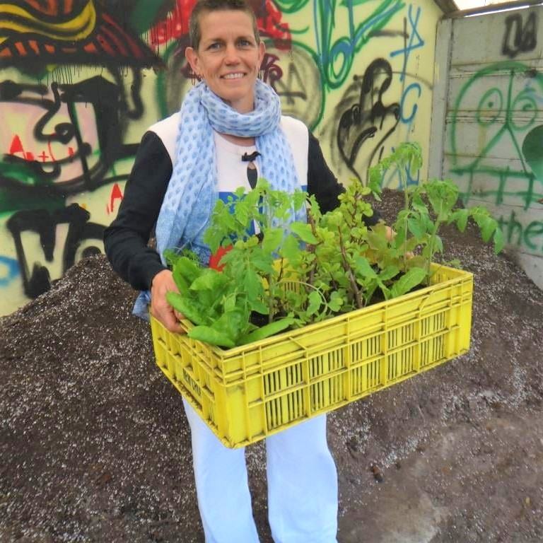 Anki Riemer, is the founder of Nordic Earth who consists of a team of farm experts following the principles of bio-integrated farming methods. Photo: Supplied/Food For Mzansi