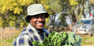 Ndela Farming farming based in KwaZulu-Natal Just outside Weenen is owned by Thabani Bhengu who has major plans for the rest of South Africa. Photo: Supplied/Food For Mzansi