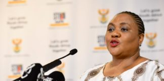 Agriculture, land reform and rural development, minister Thoko Didiza spoke at Agri SA's 2021 congress. about the key areas of implementation in the Agriculture and Agro-Processing Master Plan. Photo: Supplied/Food For Mzansi