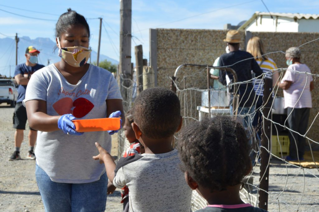Civil society has shown during the pandemic that they are willing and able to work for food security in South Africa. Photo: Elana van der Watt/Food For Mzansi