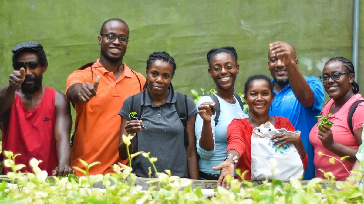 INMED South Africa and the Deaf Empowerment Firm believe that aquaponics is suitable, user friendly and safe for people with all disabilities. Photo: Supplied/Food For Mzansi